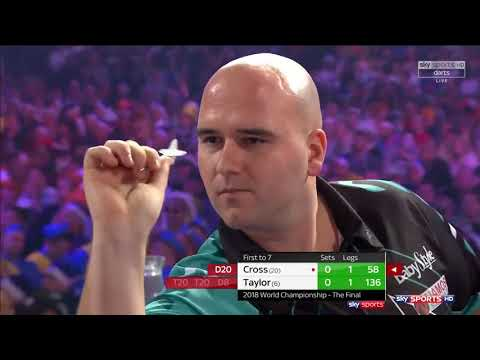 Rob ''Voltage'' Cross vs Phil ''The Power'' Taylor (PDC WORLD DARTS CHAMPIONSHIP 2018 Final)
