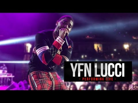 YFN Lucci Performing  In Concert ALBANY, NY