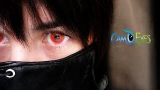 Camoeyes: Red Glow alternative to sclera [TOKYO GHOUL]