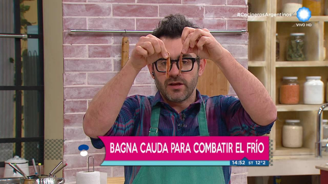 Cocineros argentinos clásica bagna cauda de youtube