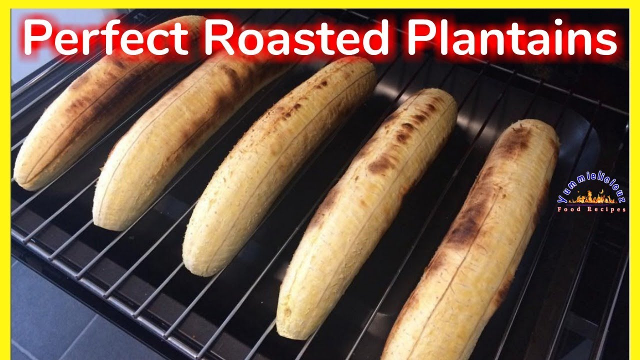 roasted plantains baked sweet plantains no oil is needed rh youtube com