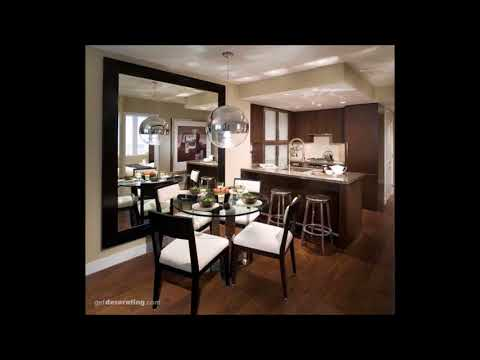 Dining Rooms Decorated with Mirrors