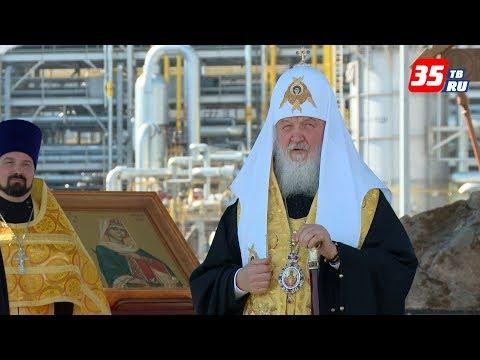 Патриарх Кирилл заложил новый храм в Череповце
