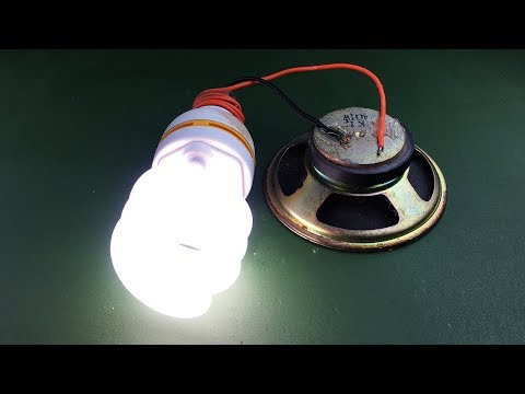 Science Electric Generator Magnets Speaker For Free New 2019