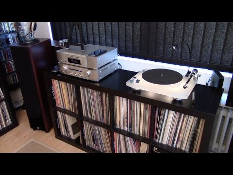 Music Room Tour - My Analog Corner October  2015