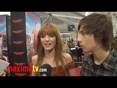 Bella Thorne and Jimmy Bennett  at