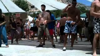 "Matala Festival 2012 - Dancing at ""Hippie Corner"""