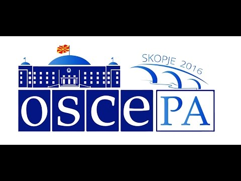 OSCE Parliamentary Assembly Live Stream