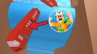 ROBLOX: TRY TO SURVIVE THE TRAIN FALLING IN THE WATERFALL!! -Play Old man