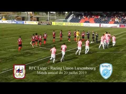 RFC Liège - Racing Union Luxembourg (amical)
