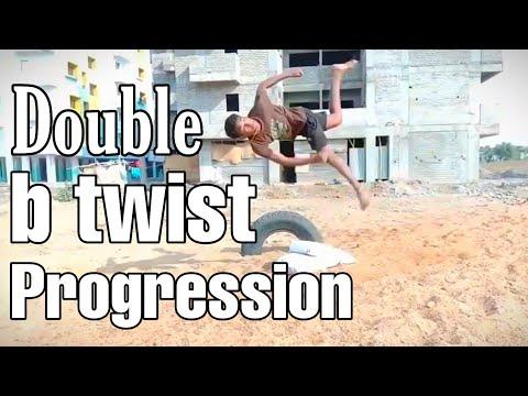 Progression double b-twist