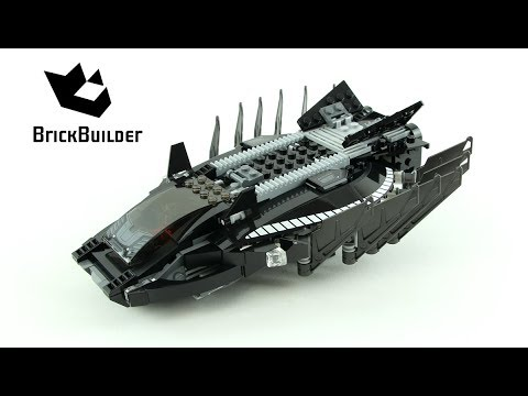 Lego Super Heroes 76100 Royal Talon Fighter Attack - Lego Speed Build