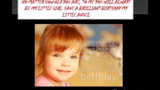 Blessed Birthday Wishes For Daughter From Mom & Dad Parents Happy B'Day Greetings vIDEO 2015 2014 Sh