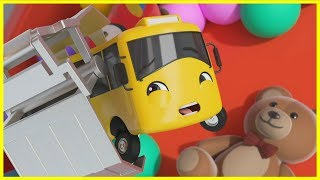 Buster's Toy Story | Go Buster | Baby Cartoons | Kids Videos | ABCs and 123s