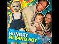 Hungry Filipino boy | KAMI | Georgina Wilson and Arthur Burnand's son