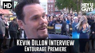 Kevin Dillon Interview - Entourage Movie Premiere