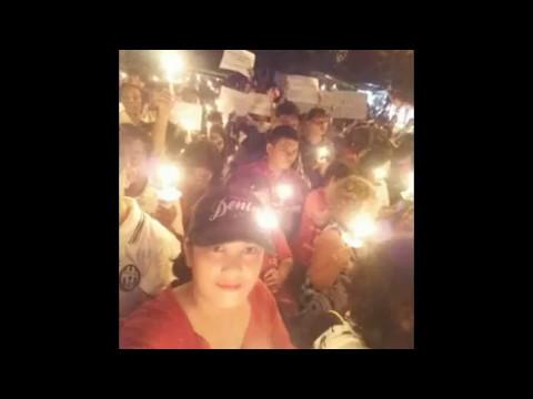 Aksi 1000 lilin untuk NKRI n for Ahok di Depok