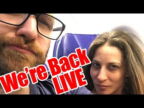 We're Back from California! Come hang out with me LIVE  🔴