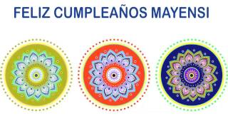 Mayensi   Indian Designs - Happy Birthday