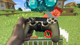 I used an AIMBOT CONTROLLER to cheat in Minecraft...
