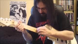 Sepultura - inquisition symphony - guitar cover - Full HD
