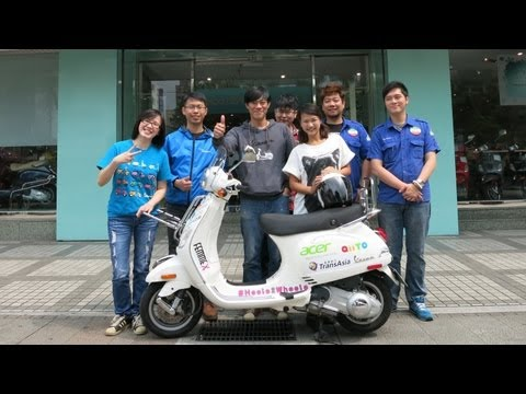 Heels 2 Wheels: Taiwan - Airline Inn, Vespa Ximending and Taipei 101 (Episode 1)