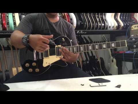 Cara Service Gitar Listrik(pickup Setting&bridge)