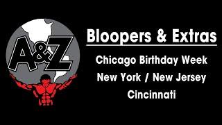 Randy Santel BLOOPERS - Chicago, New York, New Jersey, & Cincinnati