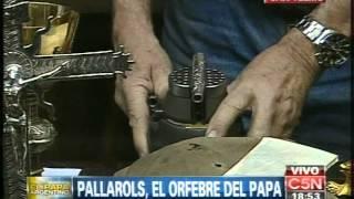 C5N - FRANCISCO, EL PAPA ARGENTINO: PALLAROLS, EL ORFEBRE DEL PAPA
