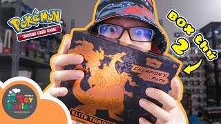 What will happen in the 2nd box Champion's Path Pokemon TCG ToyStation 551