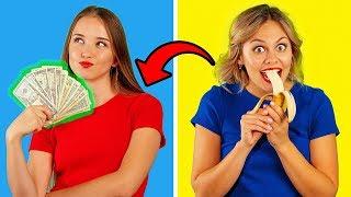VERSUCHE NICHT ZU LACHEN! Lustige Tricks und Pranks! || FALSCHENDECKEL KICK VON 123 GO! CHALLENGE