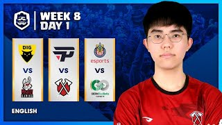 Clash Royale League: CRL West 2020 Fall | Week 8 Day 1! (English)