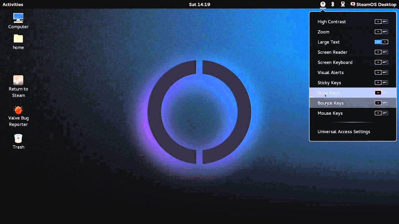 steamos desktop