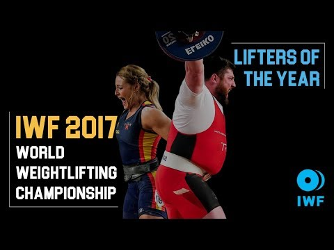 IWF Lifters of the Year 2017