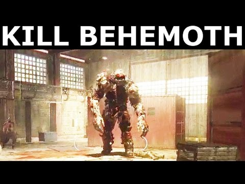 Dying Light The Following  Kill BEHEMOTH  Giant