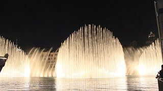 The Dubai Fountain | The Prayer | Celine Dion & Andrea Bocelli