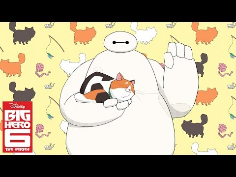 Baymax and Mochi (Short) | Big Hero 6 The Series | Disney Channel