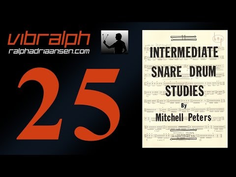 Vibralph - Intermediate snare drum studies Study #21