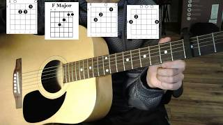"How to play ""Champion""- Carrie Underwood- Easy Guitar/ Tutorial - (Ft Ludacris)- Acoustic Lesson"