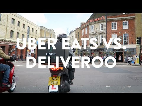 UBEREATS VS. DELIVEROO: WHO'S FASTER IN LONDON?