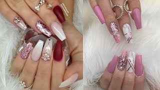Beautiful and simple design of Nails | Best Nail Art Tutorial | Part 2