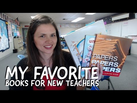 Book Recommendations for New Teachers