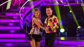 Richard Arnold & Erin Boag Cha Cha to