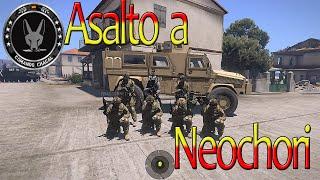 Arma 3 Asalto a Neochori / Comando Chacal Español gameplay HD 1080 PC