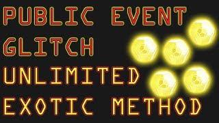 DESTINY 2 PUBLIC EVENT GLITCH - EXOTIC FARM HEAVEN - UNLIMITED EXOTIC ENGRAMS