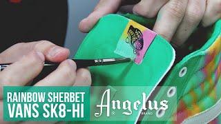 How to Blend Angelus Paint | Custom Vans Sk8-Hi | Custom Shoes