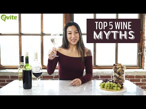 wine article The Top 5 Wine Myths from an Advanced Sommelier  Evite Original