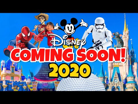 Top 10 New Disney Rides & Attractions Coming in 2020 - Disney World & Disneyland