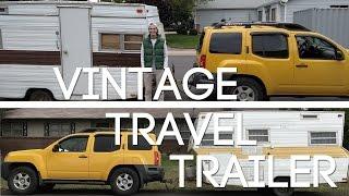 Renovating my 1973 vintage travel trailer