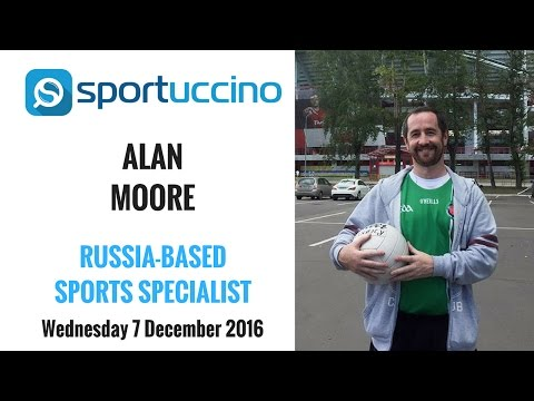 UEFA Champions League Interview with Alan Moore LIVE from Russia
